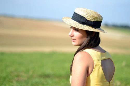 robe danity chapeau h&m
