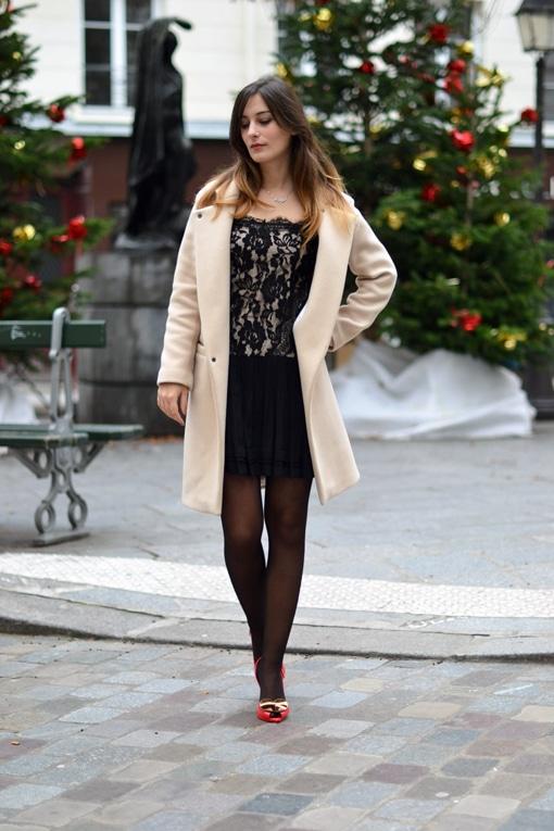 manteau sandro - robe sandro