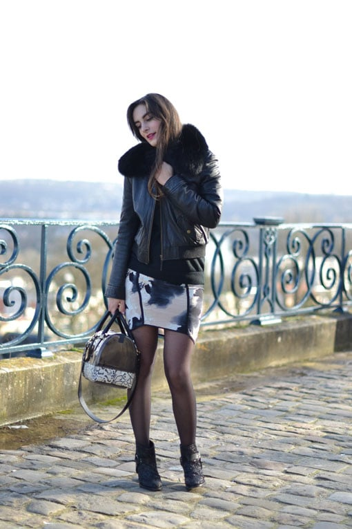 blog mode - jupe bel air - sac furla