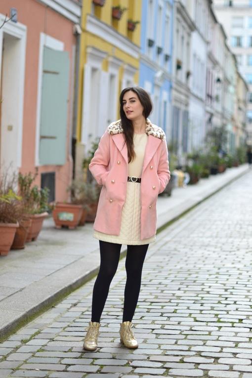 manteau sheinside - robe bel air