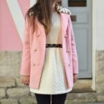 manteau sheinside - robe bel air