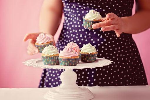 cupcakes paris - daisy cake