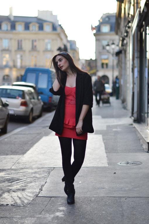 robe maje - blog mode
