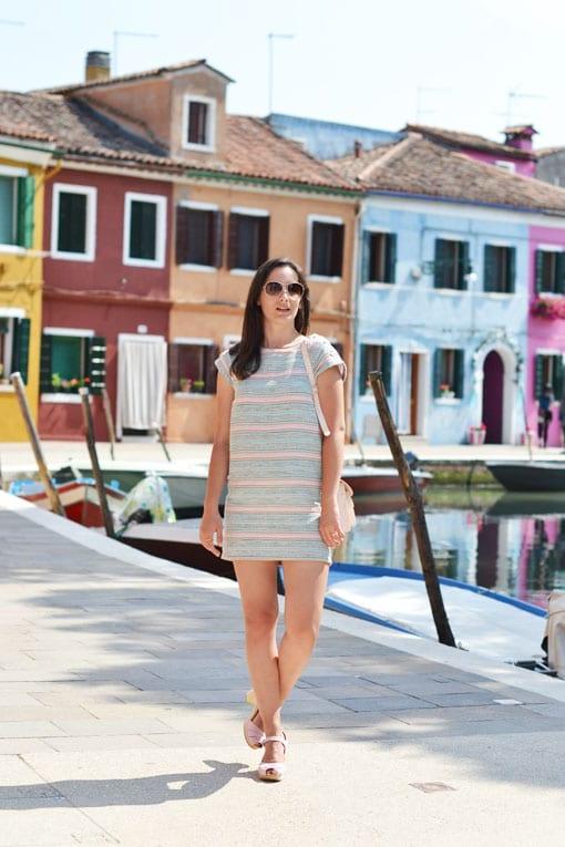 ile de burano - venise - italie - blog voyage