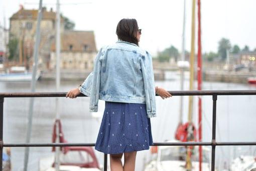 jupe des petits hauts - blog mode