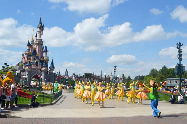 disneyland paris printemps