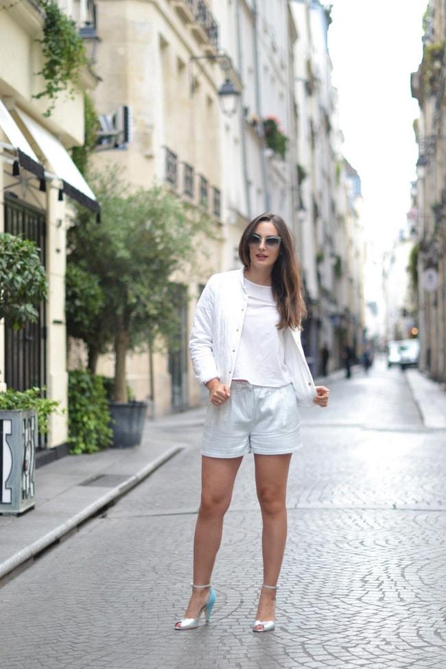 short - veste - Des Petits Hauts - Blog mode