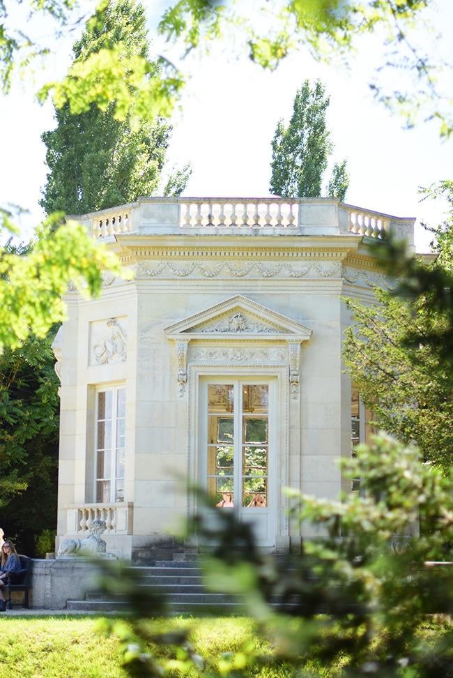 domaine marie antoinette - chateau versailles