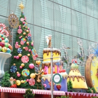 Christmas spirit in Singapore