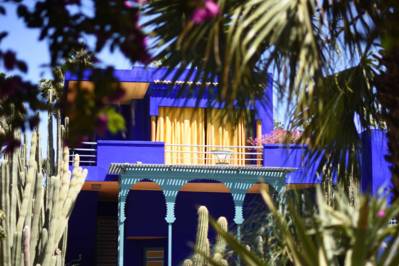 Bleu majorelle blog voyage - Frais de port offert brandalley ...